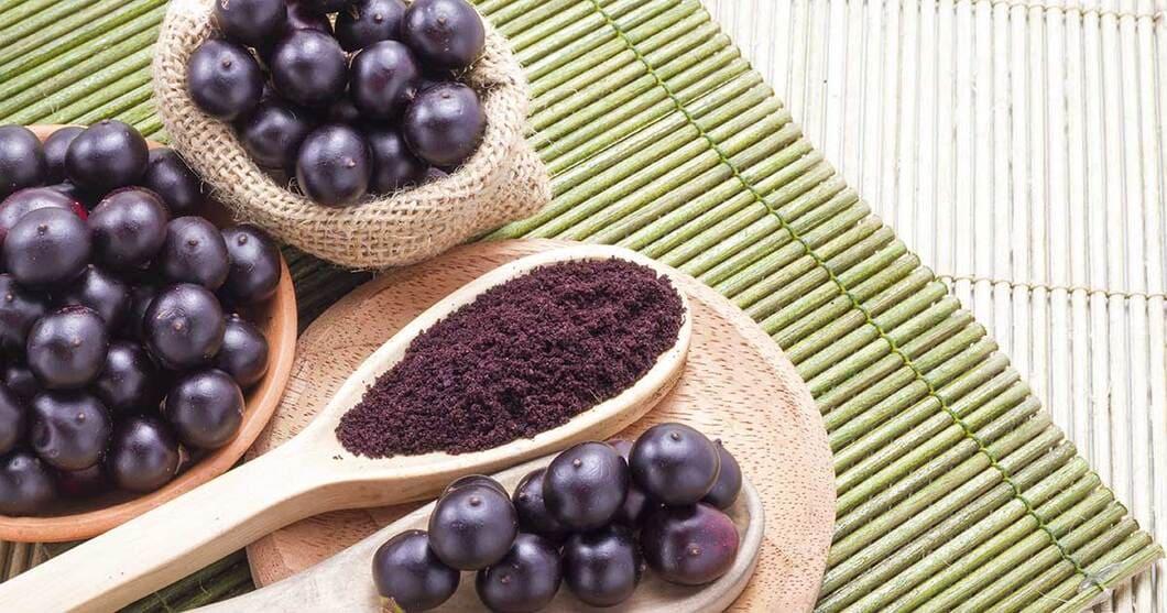 Vitaminer och mineraler som man hittar i acaibär
