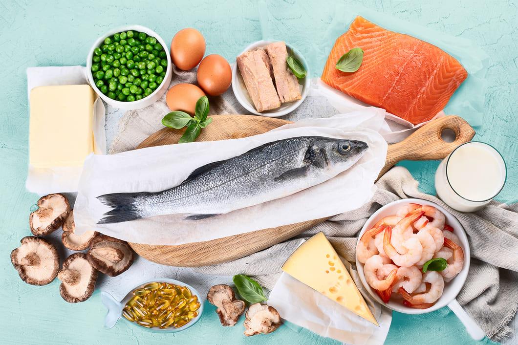 Kroppen kan även tillgodogöra sig vitamin D från kosten