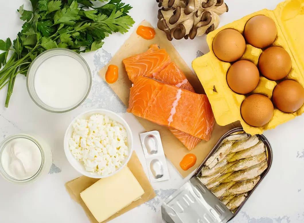 Vitamin D reglerar balansen av kalcium och fosfat i blodet