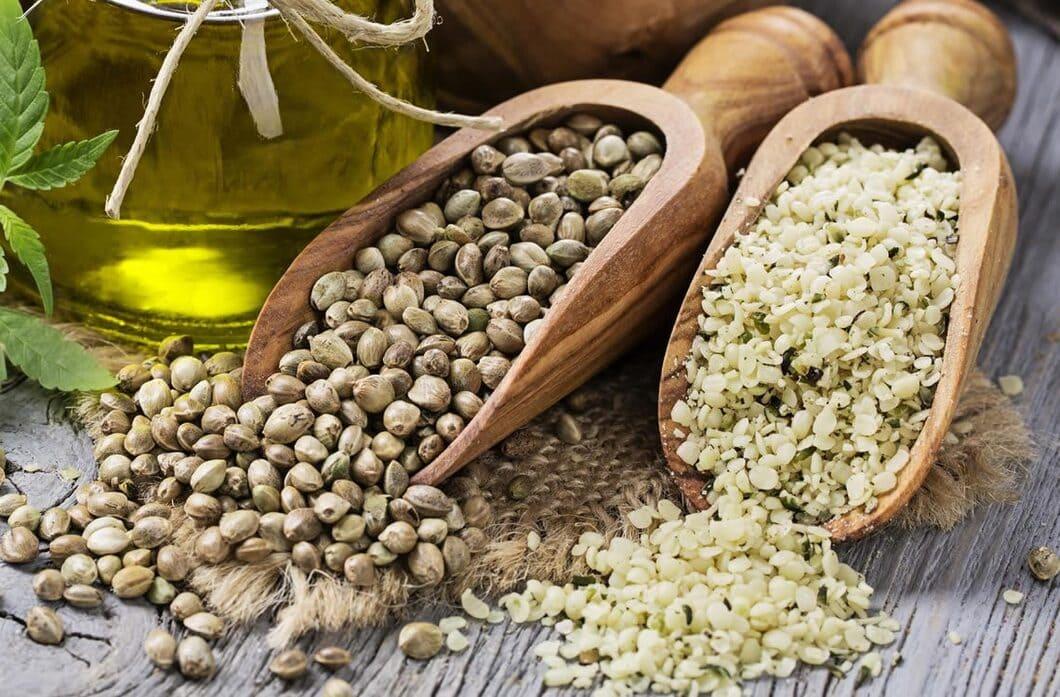 Hampans fröer har också gott om vitaminer och mineraler som är bra för kroppen