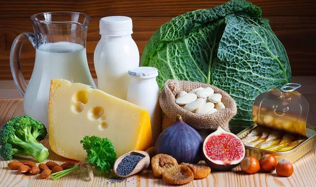 Vuxna behöver få i sig 800 mg kalcium per dag