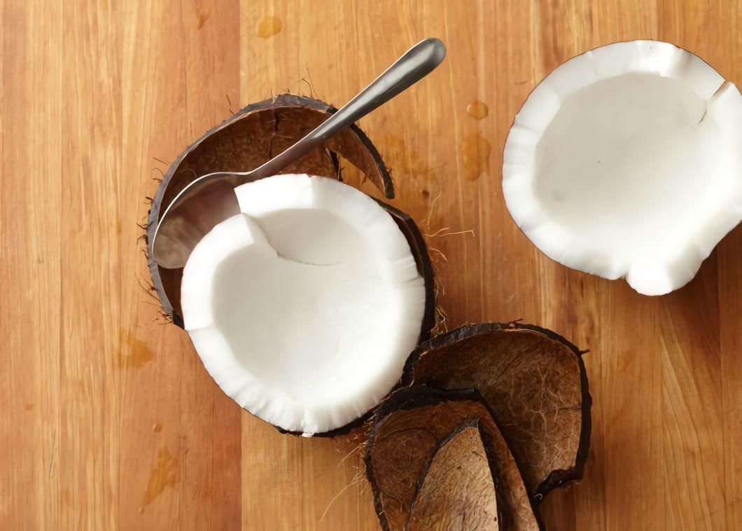 Kokosmjölet suger nämligen i sig mer vatten