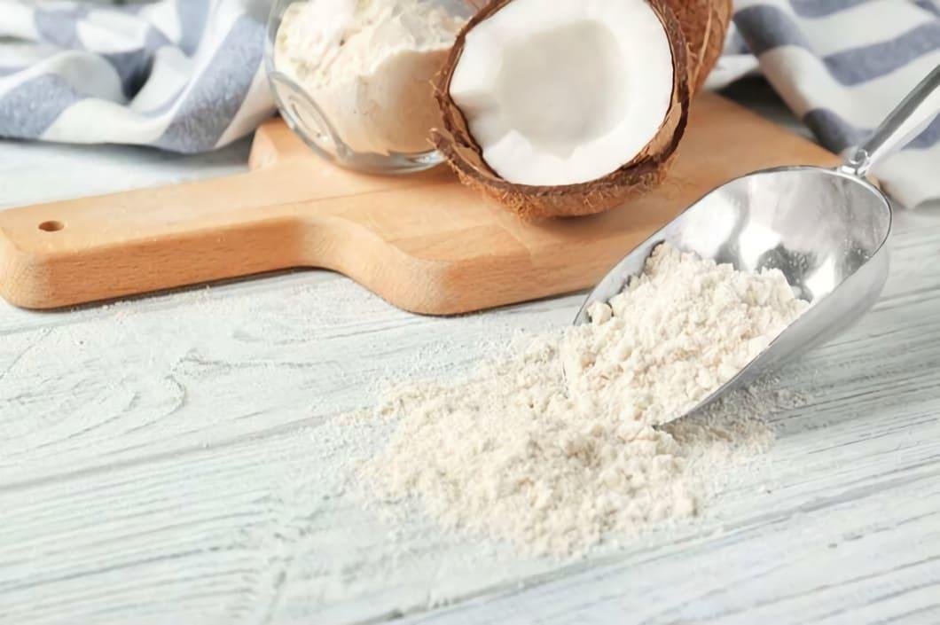 Kokosmjöl är dessutom naturligt gluten- och laktosfritt
