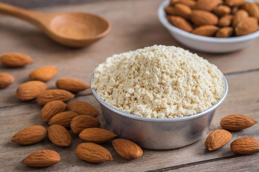 Sex snabba fakta om mandelmjöl