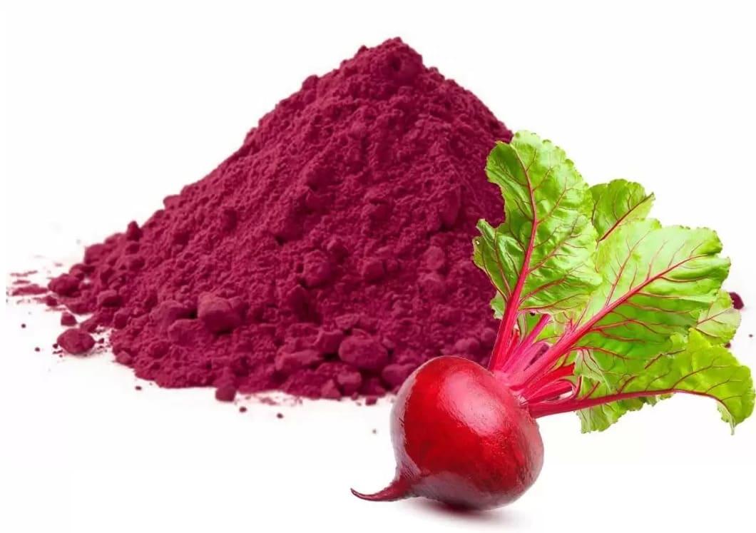 En näringsdeklaration för rödbetspulver