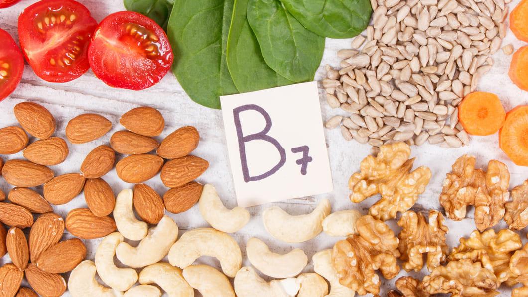 Biotin (vitamin B7) är ett vattenlösligt vitamin